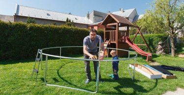 Comment monter un trampoline