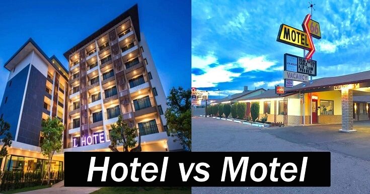 Difference entre hotel et motel